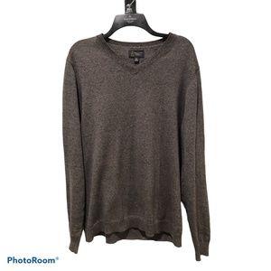 Wallin & Bros Long Sleeve V-neck Sweater XL